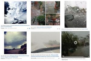 Tucsonans share monsoon photos on social