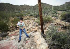 Homestead links Arizona family to the past