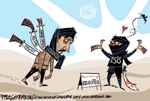 Daily Fitz Cartoon: ISIS
