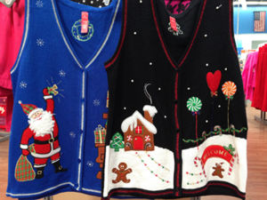 Spirited (er, ugly) sweaters redefine essence of 'dressed in holiday style'