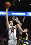 No. 3 Arizona vs. Michigan men's college basketball