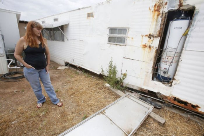 Tucson S Aging Mobile Homes Rent To Own Abuse Common