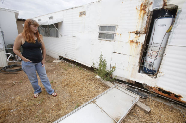 Tucson's aging mobile homes: Rent-to-own abuse common ...