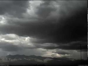 Watch Saturday's hail storm roll into Tucson