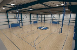 Facility will be a haven for aspiring hoopsters
