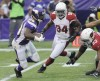 NFL: Vikings 21, Cardinals 14: Cards sputter in 3rd straight loss