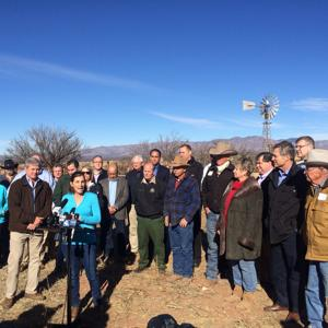 McSally, other Congress members tour border