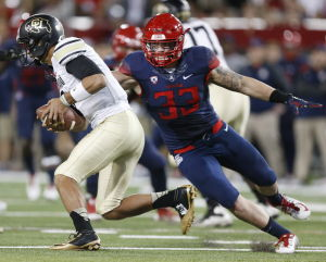 UA football: Wright named unanimous All-American