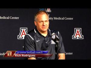 Watch: RichRod previews spring ball, new defensive coaches