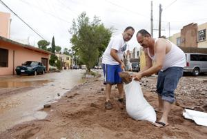 Photos: Storm cleanup in Nogales, Sonora
