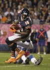 Monday Night Football: Bears 13, Lions 7: Chicago exhales after Cutler returns