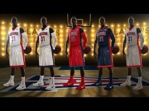 Arizona basketball new uniforms