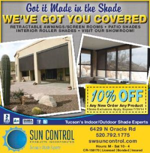 10% OFF Any New Order, Any New Product at SW Sun Control Products