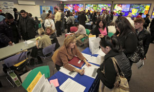 Shrinking workforce partially driving drop in jobless rate