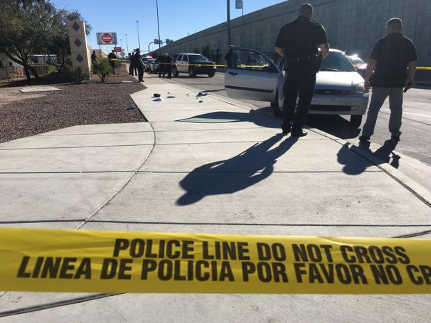 Shooting victim dropped off downtown near fire station
