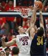 Pac-12 Basketball California 77, No. 7 Arizona 69 Ouch! That one hurt