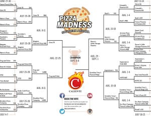 Pizza Madness: This is it. The Final Four-maggio