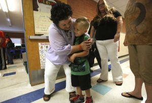 Photos: First day of school at Marshall Elementary