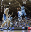 Top 25 Big 2nd half gets Duke past N. Carolina