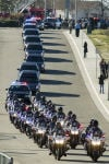 Riverside police officer's funeral