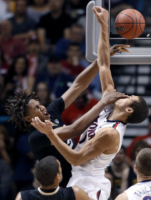 Pac-12 tournament photos: No. 1 Arizona 63, No. 5 Colorado 43