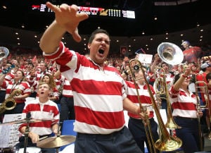Gregarious band member is McKale Center staple