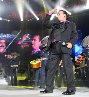 Juan Gabriel gives his fans what they want: himself