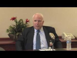 Video: John McCain on D-M's future