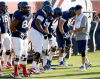 UA football: Defensive line 'up in the air'