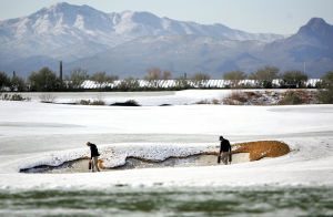 Photos: Match Play after Tucson snow