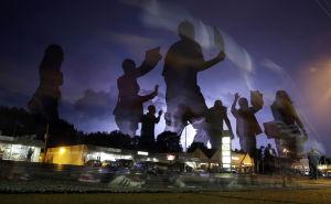 Noche calmada en Ferguson, menos manifestantes