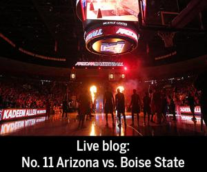 Live blog: No. 11 Arizona vs. Boise State in Wooden Legacy