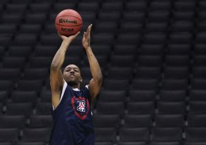 Photos: Arizona Wildcats practice at Staples Center