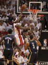 NBA playoffs: Heat 90, Pacers 79: LeBron takes over in 3rd quarter