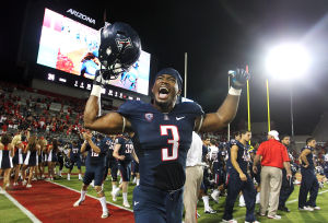 UA football photos: Daniel Jenkins