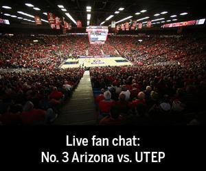 Live fan chat: No. 3 Arizona vs. UTEP