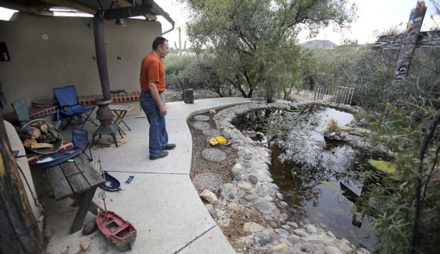 New uses for old swimming pools tucson gardens for Az pond and pool