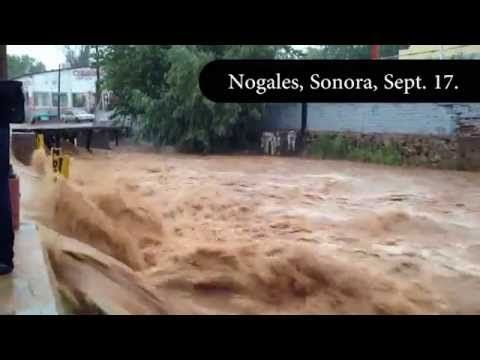 Flooding in Nogales