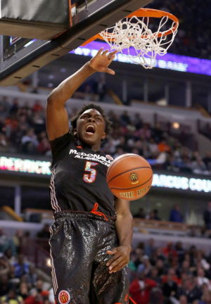 UA basketball: Trier named McDonalds All-American