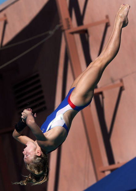 'Determined' diver Schnell aiming for repeat at state