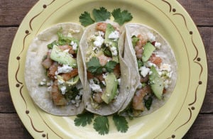 Test kitchen recipe: Try shrimp tacos with spicy slaw