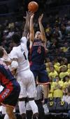 No. 7 Arizona Wildcats vs. Oregon Ducks men's college basketall