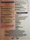 La Bocanita menu