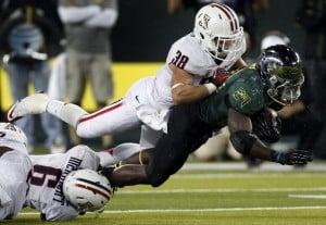 Arizona football: Tra-la-la, he's a hit as hybrid