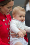 Prince William and Princess Catherine and Prince George