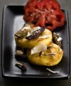Polenta gets jazzed up with meaty quality of sautéed mushrooms