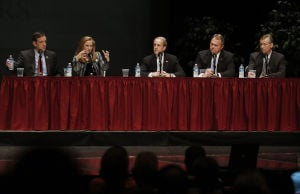 GOP governor's debate offers few fireworks