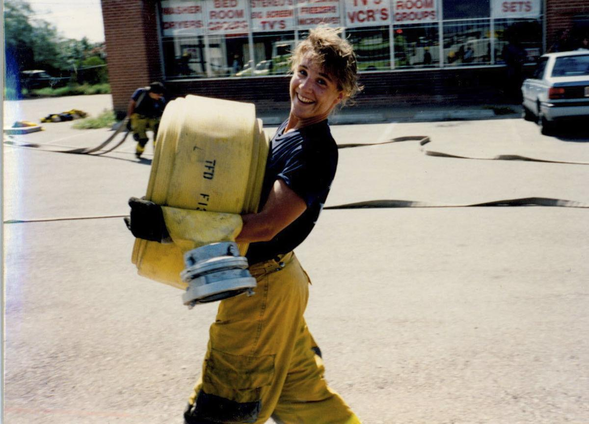 One Of Tucson S First Female Firefighters Wins Sexual