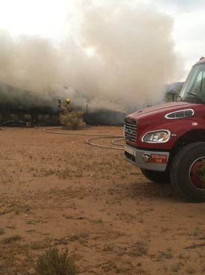 Arson suspected in Avra Valley fire