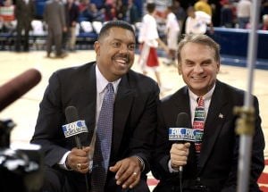 Photos: Broadcaster and UA icon Dave Sitton
